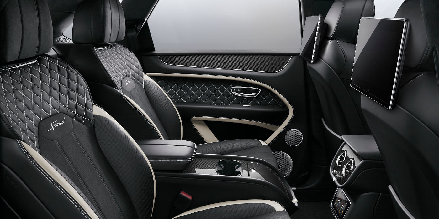 new-bentley-bentayga-speed-rear-interior-with-black-quilted-seats-and-rear-seat-entertainment
